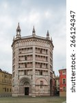 The Baptistery Of Parma Is A...