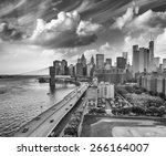 New York. Fdr Drive And...