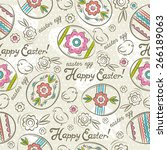 Easter Patterns And Seamless...