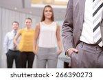 dress code. close up of a... | Shutterstock . vector #266390273