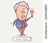 the inventor thomas edison with ...