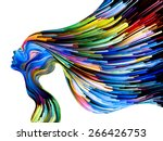 colors of imagination series.... | Shutterstock . vector #266426753