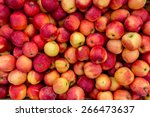 closeup shot of fresh red and... | Shutterstock . vector #266473637