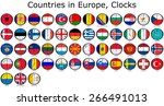 list of countries in europe ...   Shutterstock . vector #266491013
