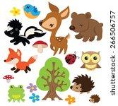 Forest Animals Vector...