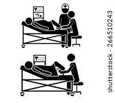 medical care design over white...   Shutterstock .eps vector #266510243