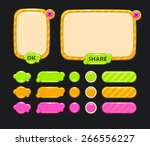 cute vector user interface for...
