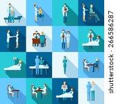 doctors occupation professional ... | Shutterstock .eps vector #266586287