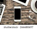 facebook  mock  up. | Shutterstock . vector #266680697