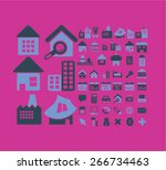 house  building  home  real... | Shutterstock .eps vector #266734463