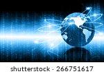 internet concept | Shutterstock . vector #266751617