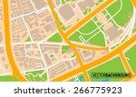 texture city map   Shutterstock .eps vector #266775923