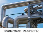 pipeline of the power station | Shutterstock . vector #266840747