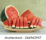 Watermelons And Watermelon...