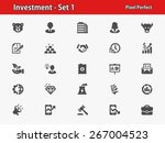 investment icons. professional  ... | Shutterstock .eps vector #267004523