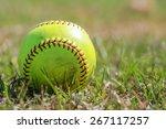 Yellow Ball For Softball Match
