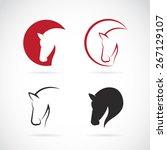 vector images of horse design... | Shutterstock .eps vector #267129107
