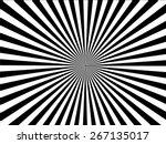 black and white  sunburst...