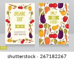 promo cards template for... | Shutterstock .eps vector #267182267