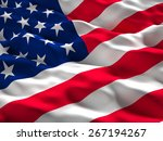 3d illustration of american old ... | Shutterstock . vector #267194267