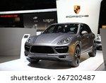 Постер, плакат: Porsche Cayenne turbo S