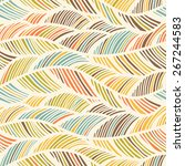 seamles fabric abstract pattern.... | Shutterstock .eps vector #267244583