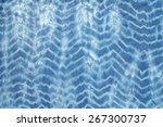abstract tie dyed fabric... | Shutterstock . vector #267300737