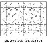 vector illustration of white... | Shutterstock .eps vector #267329903