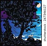 the tree | Shutterstock .eps vector #267346127