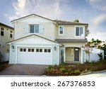 new home building exterior house | Shutterstock . vector #267376853