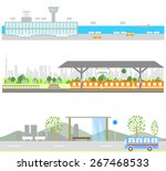 airport   railway station and...