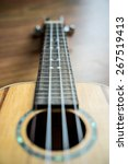 Small photo of Acoustic Ukulele Hawaii guitar style