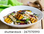 Quinoa With Grilled Pumpkin An...