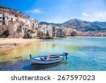 Beautiful Old Harbor With...