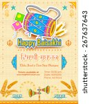 Illustration Of Happy Baisakhi...