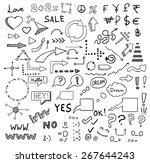 signs and symbols set | Shutterstock . vector #267644243