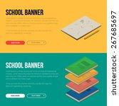 flat design vector illustration ... | Shutterstock .eps vector #267685697