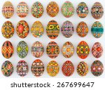 Composition Of Colored Eggs An...