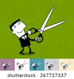 budget. business illustration ... | Shutterstock .eps vector #267727337