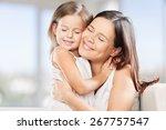 mother  daughter  bio. | Shutterstock . vector #267757547