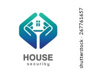 house security services logo | Shutterstock .eps vector #267761657
