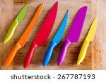 close up colorful kitchen... | Shutterstock . vector #267787193