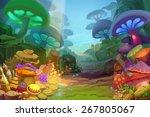 Mushroom Forest   Scene Design