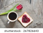 cup coffee  | Shutterstock . vector #267826643