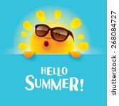 Hello Summer!  | Shutterstock vector #268084727