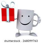 fun mug   Shutterstock . vector #268099763