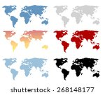 Vector Illustration Of A World...