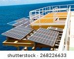 solar energy is a green power ... | Shutterstock . vector #268226633