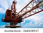 crane offshore | Shutterstock . vector #268428917