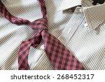 Necktie On Shirt